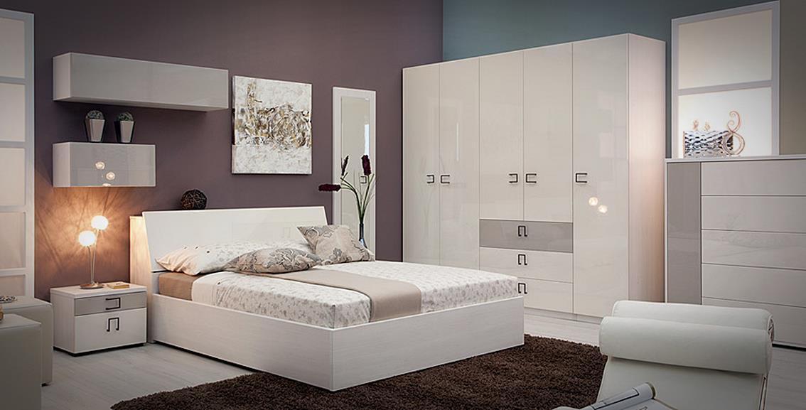Spavaća soba Hespo MARTA  Dalmostan salon namještaja